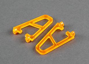 Landing gear for FPV250 V4 Ghost Edition Orange (2 pcs)