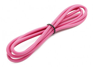 Turnigy High Quality 14AWG Silicone Wire 1m (Pink)