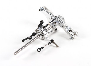 Assault 450DFC TT & Belt Flybarless 3D Helicopter CNC Complete Rotor Head Assembly with Swashplate