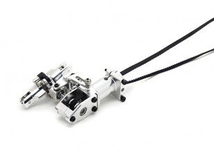 Assault 450DFC Belt Flybarless 3D Helicopter Tail Rotor Gearbox Assembly with Blade Holders