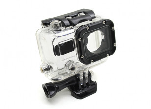 Skeleton Protective Housing with Lens for GoPro Hero 3