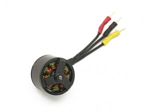 Assault 100 Flybarless Helicopter Replacement Brushless Main Motor with Wiring Harness