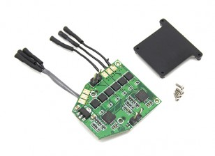Assault 100 Flybarless Helicopter Replacement PCB Board Turnigy RF Module Version Only