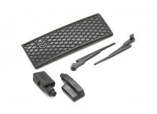 Wiper/Side Mirror/Grill Set - OH35P01 1/35 Rock Crawler Kit