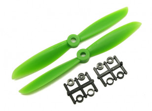 Gemfan 6045 GRP/Nylon Propellers CW/CCW Set (Green) 6 x 4.5