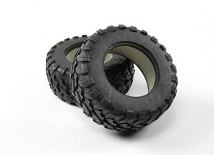 Desert Fox 2.2 Big SC Tyre Set (2pcs)