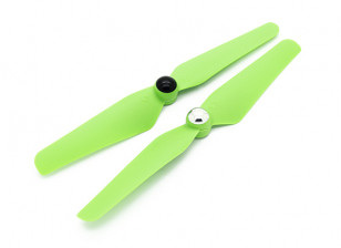 Quanum Self Tightening Nylon Propeller 6x3.2 Green (CW/CCW) (2pcs)