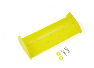 BSR Berserker 1/8 Electric Truggy - Rear Wing (Yellow) 816801