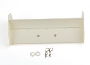 BSR Berserker 1/8 Electric Truggy - Rear Wing (White) 816803