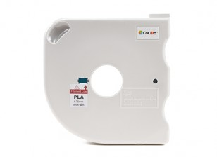CoLiDo 3D Printer Filament 1.75mm PLA 500g Spool w/Cartridge (Blue)