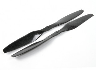 Dynam 15x5.5 Carbon Fiber Propellers for Multirotors (CW and CCW) (1pair)