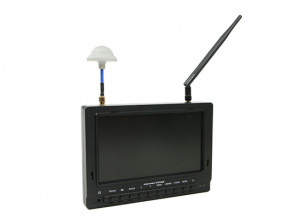 7 inch 800 x 480 40CH Diversity Receiver Sun Readable FPV Monitor Fieldview 777SB (AU Plug)