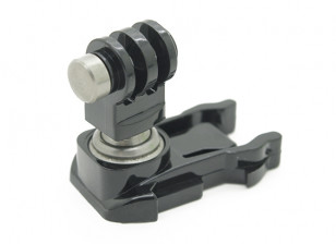 Rotatable quick release buckle for all Go Pro Cameras