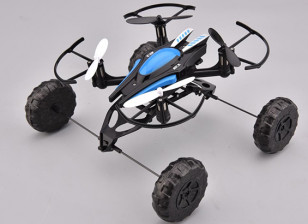 Triphibious Quadcopter