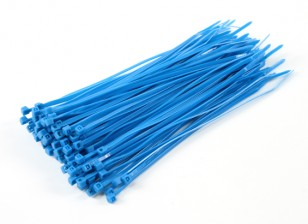 Cable Ties 200mm x 4mm Blue (100pcs)