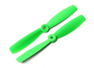 DYS Bull Nose Plastic Propellers T6045 (CW/CCW) (Green) (2pcs)