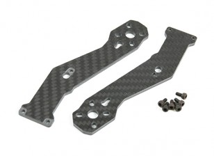 Tarot 3mm Thick Front Arms for TL280H Half Carbon Fiber