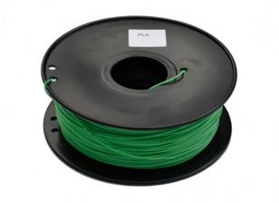 HobbyKing 3D Printer Filament 1.75mm PLA 1KG Spool (Dark Green)