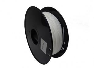 HobbyKing 3D Printer Filament 1.75mm Flexible 0.8KG Spool (White)