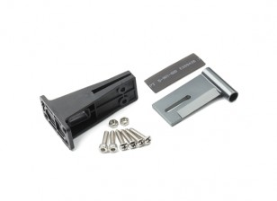 HydroPro Inception Racing Boat - CNC Aluminium Alloy Rear Shaft Mount and Plastic Support Set
