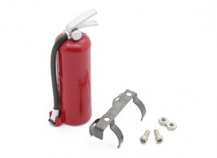 Fire Extinguisher with Mounting for 1/10 RC Scale Crawler