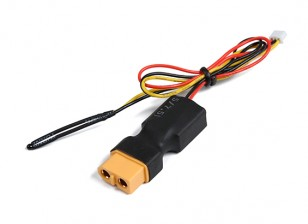 XT60 Inline Flight Pack Voltage & Temperature Sensor for OrangeRx Telemetry system.