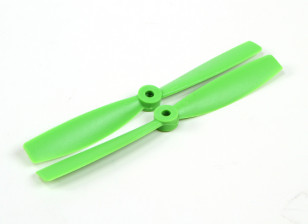 HobbyKing 6050 Bullnose PC Propellers (CW/CCW) Green (1 pair)
