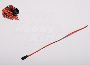 JR Servo Lead Male 30CM (10pcs/set)