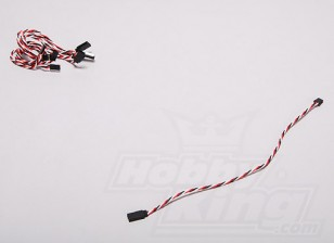 Twisted 30CM Servo Lead Extention (Futaba) 22AWG (5pcs/set)