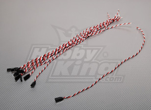 45cm Female 22AWG Twisted (10pcs/bag)