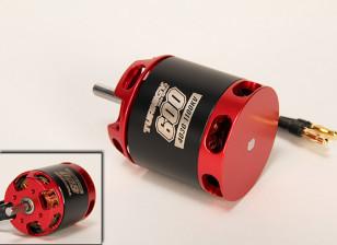 Turnigy T600 Brushless Outrunner for 600 Heli (1100kv)