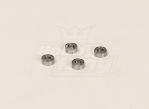 HK600GT Ball Bearings Pack (10x4x5mm) (4pcs/bag)
