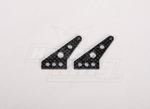 Carbon Fiber Control Horn 35x24mm (2pcs/bag)