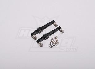 HK-500GT Metal Flybar Control Arm Set (Align part # H50013-1)