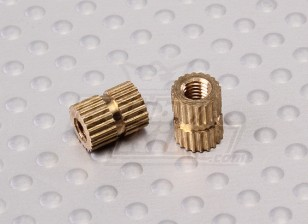 Brass Knurled Nut M3 - Centurion 450mm Catamaran Boat (2pcs)