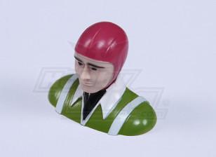 Ultra Light Parkfly Pilot (Green) (H30 x W37 x D18mm)