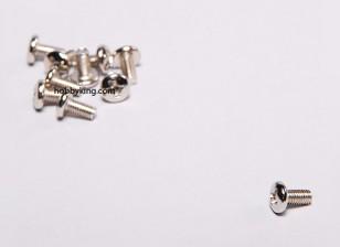 Screw Button Head Phillips M3x6 Machine Spinner (10pcs/set)