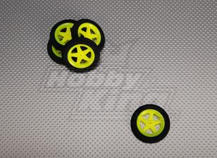 Super Light 5 Spoke Wheel D46xH9 (5pcs/bag)