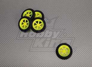 Super Light Multi Spoke Wheel D46x9mm (5pcs/bag)
