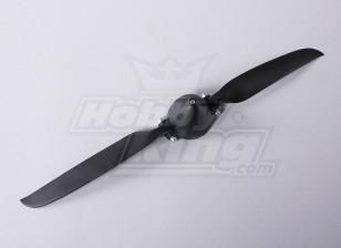Folding Propeller W/Hub 45mm/4mm Shaft 12x6 (1pc)