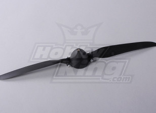 Folding Propeller W/Hub 45mm/4mm Shaft 13.5x7 (1pc)