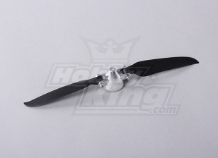 Folding Propeller W/Alloy Hub 35mm/3mm Shaft 9x5 (1pc)