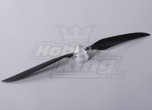 Folding Propeller W/Alloy Hub 45mm/4mm Shaft 14x8 (1pc)