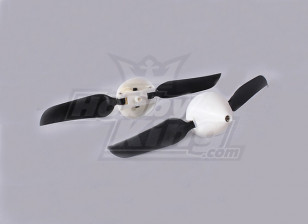 Folding Propeller W/Hub 18mm/2mm Shaft 4.5x3 (2pcs)