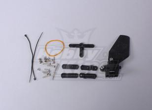Float Helm (rudder) Set for Seaplane Floats (1set/bag)