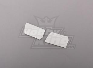 450 Size Heli Flybar Paddle White (pair)