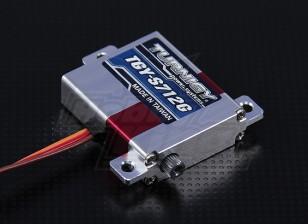 Turnigy™ TGY-S712G Alloy Case Slim Wing DS/MG Servo 25T 7kg / 0.12sec / 28g