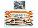 Durafly® ™ Tundra - Decal Set (Orange/Grey)