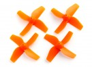35mm 4-Blade Propeller (2CCW, 2CW) (Orange)