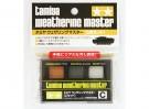 Tamiya Weathering Master Set C - Orange Rust, Gun Metal & Silver